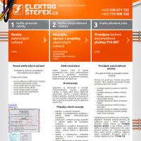 Reference Elektro Štefek